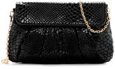 Urban Expressions Juliet Snake Embossed Vegan Leather Clutch