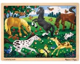 Melissa & Doug Kids Toy, Frolicking Horses 48-Piece Jigsaw Puzzle