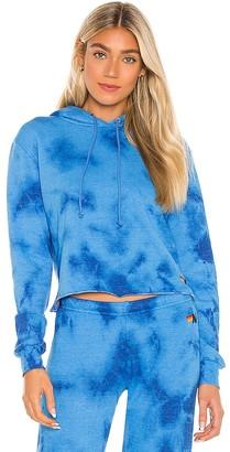 Aviator Nation Hand Dyed Pullover Crop Sweatshirt