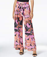 Maison Jules Printed Wide-Leg Soft Pants, Created for Macy's