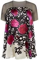 Marina Rinaldi Printed Tunic Top