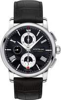 Montblanc Men's 4810 43mm Alligator Leather Band Steel Case Automatic Analog Watch 115123
