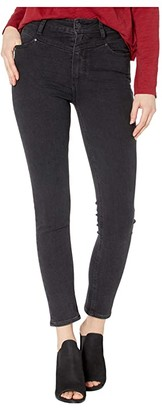 Paige Margot Ankle w/ Front Yoke Jeans in Midnight Star (Midnight Star) Women's Jeans