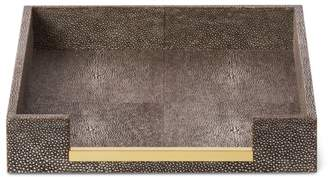 AERIN Shagreen Paper Tray