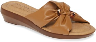 TUSCANY by Easy Street Cella Wedge Slide Sandal