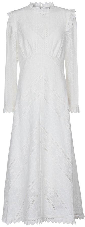 Zimmermann Brighton lace midi dress