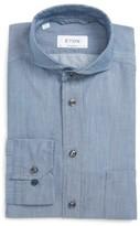 Eton Men's Contemporary Fit Chambray Dress Shirt