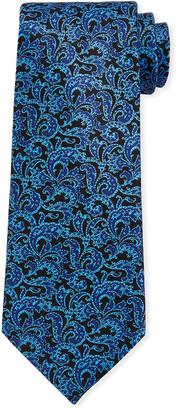 Stefano Ricci Men's Large-Paisley Luxe Silk Tie