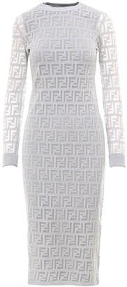 Fendi FF Fitted Dress