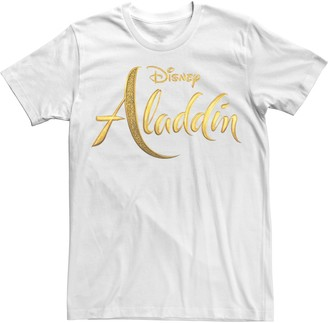 Disney Disney's Aladdin Men's Logo Graphic Tee