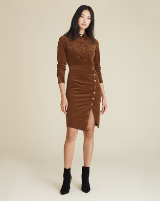 Veronica Beard Britton Button-Down Shirtdress