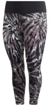 adidas Women's Plus Size Printed Tights