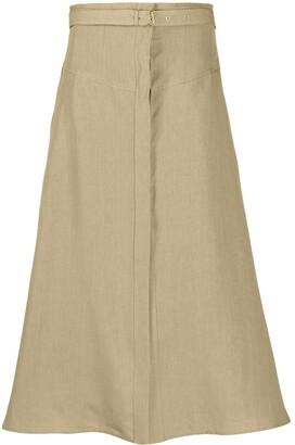 Le Kasha Gizeh high-waisted skirt