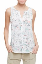 Sanctuary Women's Craft Floral Print Shell