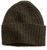 Drakes Drake's Donegal Wool Hat in Olive