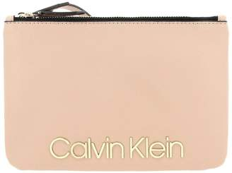 Calvin Klein Clutch Bag Must Mini Shoulder Bag In Ecological Leather With Maxi Logo