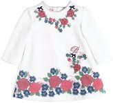 Miss Blumarine Floral Printed Cotton Dress
