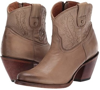 Lucchese Wing (Distressed Bone) Cowboy Boots