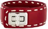 Prada City Calf Leather Bracelet