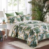 By The Sea Shore Polynesia Quilt Set in Green