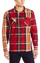 Levi's Men's Herbert Poplin Long Sleeve Woven Shirt