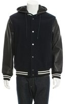 Marc by Marc Jacobs Wool Leather-Trimmed Jacket
