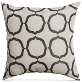 "CLOSEOUT! Softline Layne 20"" Square Decorative Pillow"