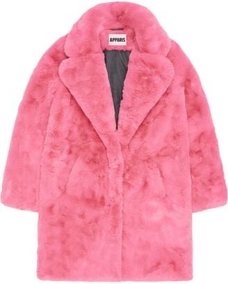 Apparis Sasha faux-shearling coat