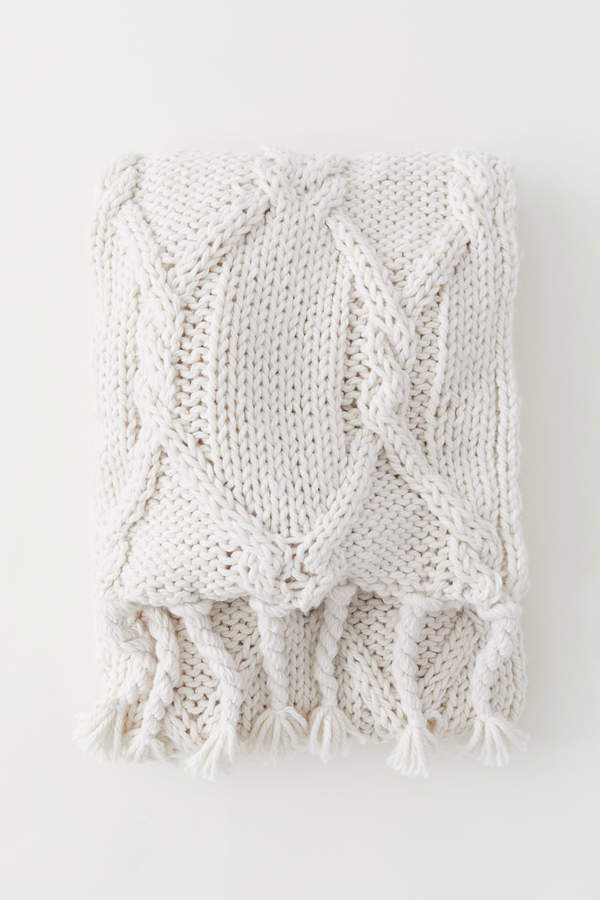 H&M Textured-knit Throw