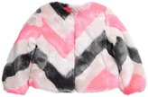 Imoga Girls Greta Faux Fur Jacket