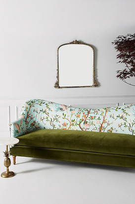 Anthropologie Valerie Pied-A-Terre Sofa By in Mint Size 93 in