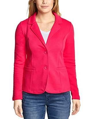 Street One Women's 2990 Rhoda Suit Jacket, Dark Blossom Pink 11709, UK