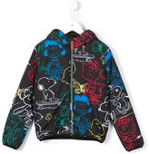 Finger In The Nose Snoopy print hooded jacket
