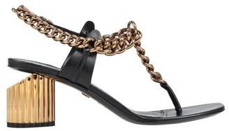 Roberto Cavalli Toe strap sandal