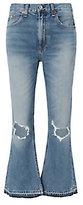 Rag & Bone Carls Vintage Crop Flare Jeans