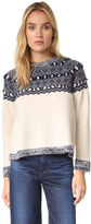 Clu Too Fair Isle Pullover
