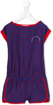 Little Marc Jacobs striped playsuit - kids - Polyester - 6 yrs