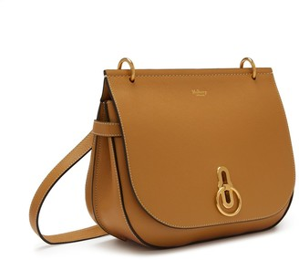 Mulberry Amberley Satchel Sable Silky Calf