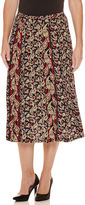 Sag Harbor Heritage Separates Paisley Print Skirt