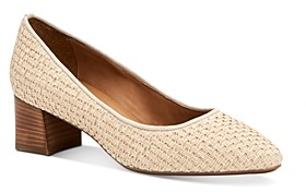 Aquatalia Women's Pasha Weatherproof Raffia Pumps