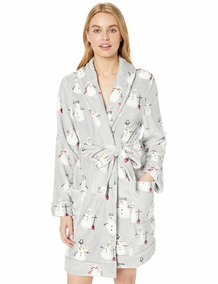 Munki Munki Women's Plush Robe