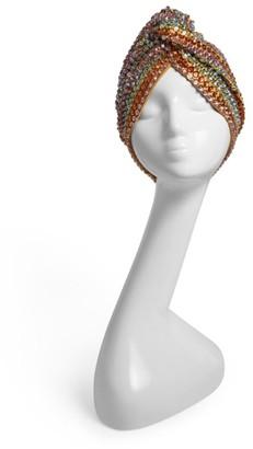 MaryJane Claverol Rainbow Stripe Turban