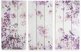 Graham & Brown Birds & Butterflies 3-Piece Wood Print Wall Art