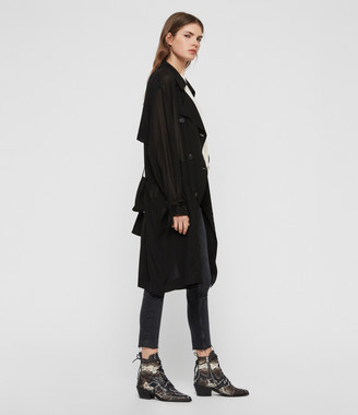AllSaints Bria Trench Coat