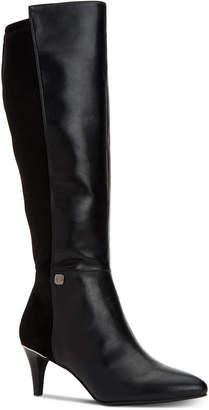 Alfani Women Step 'N Flex Hakuu Wide-Calf Dress Boots, Women Shoes