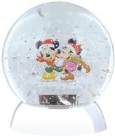 Disney Waterdazzler Mickey & Minnie Snow Globe