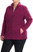 White Sierra Mountain Jacket (For Plus Size Women)