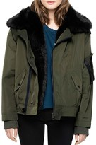 Zadig & Voltaire Kassy Faux-Fur-Lined Coat