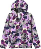 Joe Fresh Women's Floral Active Popover, Purple (Size XS)