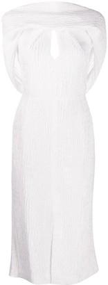 Roland Mouret Belem key-hole neck dress